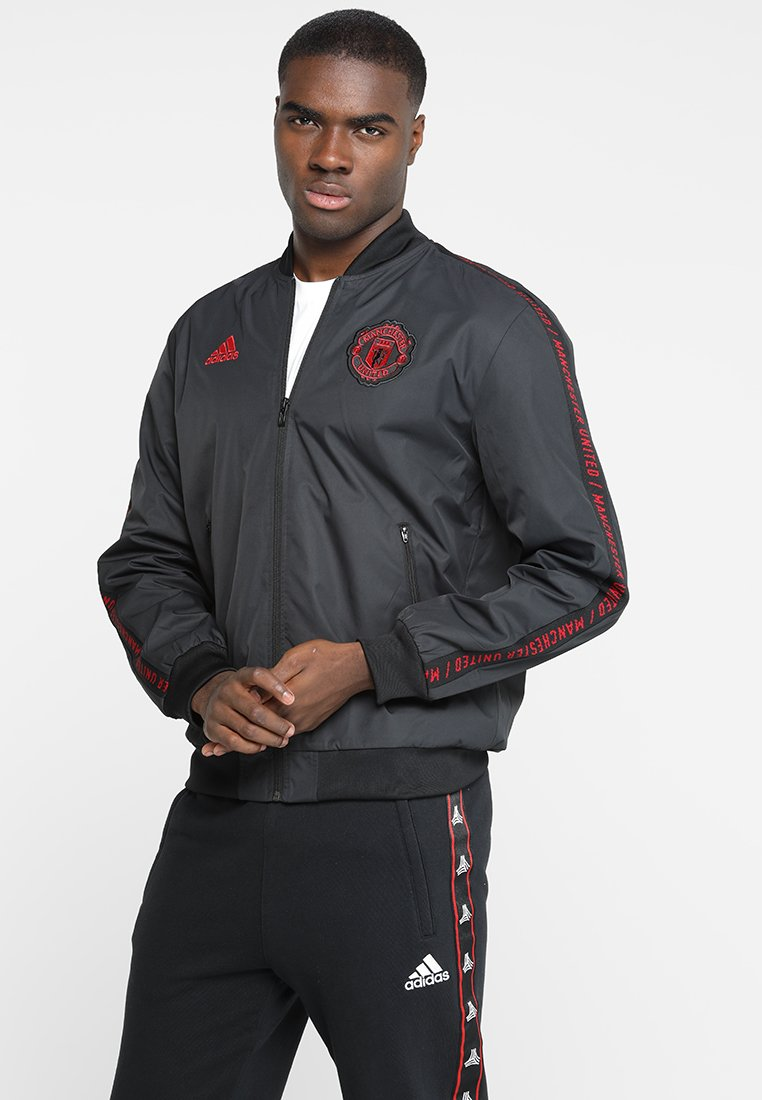 adidas Performance - MANCHESTER UNITED FC ANTHEM - Training jacket - black