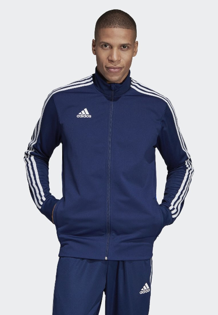 adidas Performance - TIRO 19 TRAINING TRACK TOP - Training jacket - blue