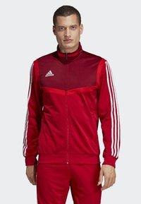 adidas Performance - TIRO 19 POLYESTER TRACK TOP - Trainingsvest - red - 0