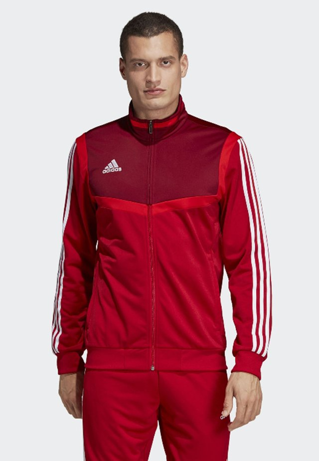 TIRO 19 POLYESTER TRACK TOP - Giacca sportiva - red