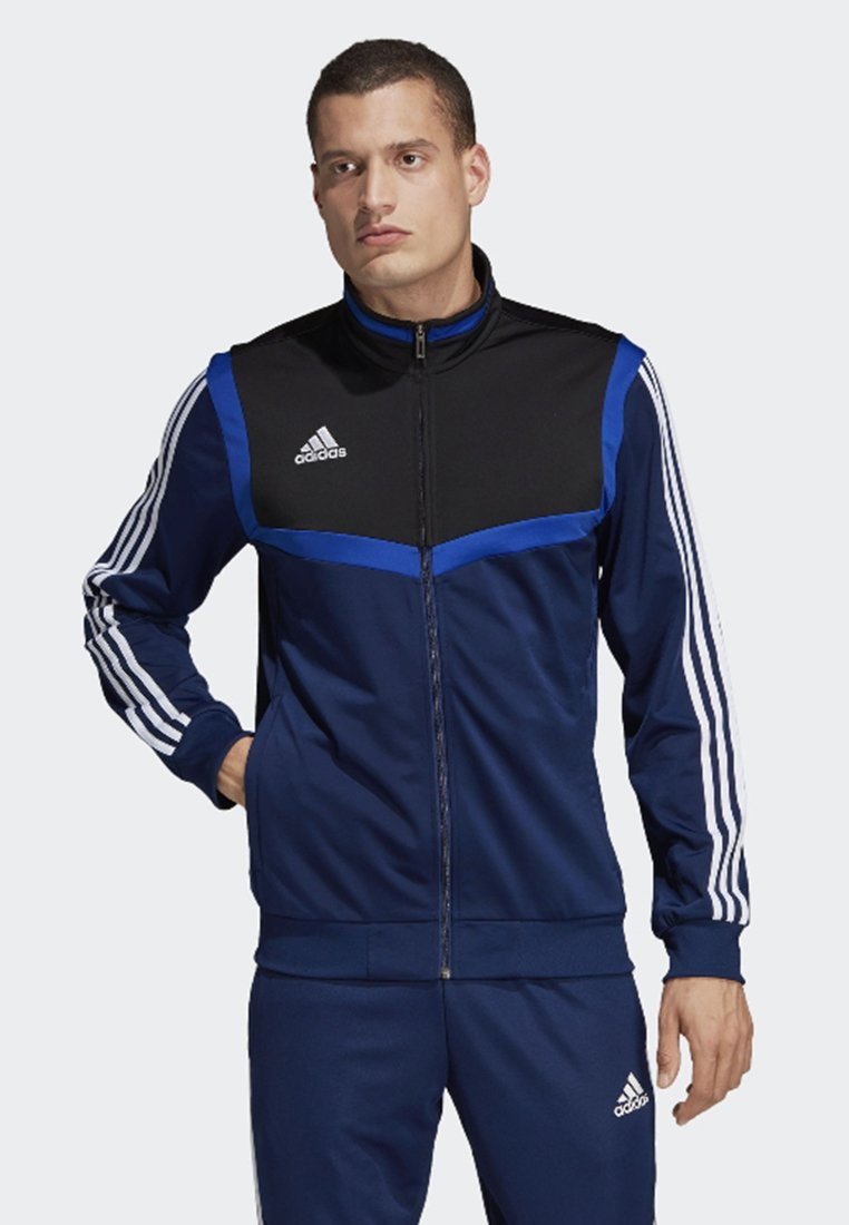 adidas Performance - TIRO 19 POLYESTER TRACK TOP - Veste de survêtement - blue