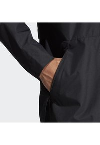 adidas Performance - URBAN CLIMAPROOF RAIN JACKET  - Impermeable - black - 3