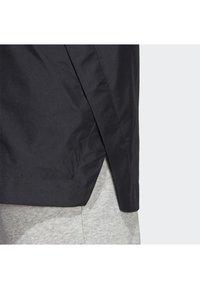 adidas Performance - URBAN CLIMAPROOF RAIN JACKET  - Impermeable - black - 4