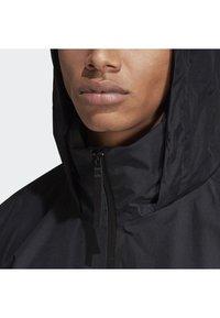 adidas Performance - URBAN CLIMAPROOF RAIN JACKET  - Impermeable - black - 5