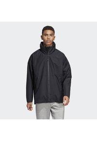 adidas Performance - URBAN CLIMAPROOF RAIN JACKET  - Impermeable - black - 0