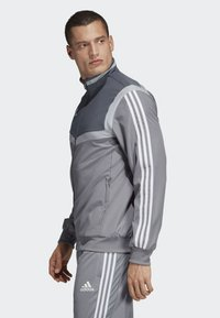 adidas Performance - TIRO 19 PRESENTATION TRACK TOP - Training jacket - grey/ white - 2
