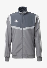adidas Performance - TIRO 19 PRESENTATION TRACK TOP - Training jacket - grey/ white - 6
