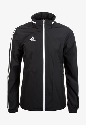 TIRO - Waterproof jacket - black / white