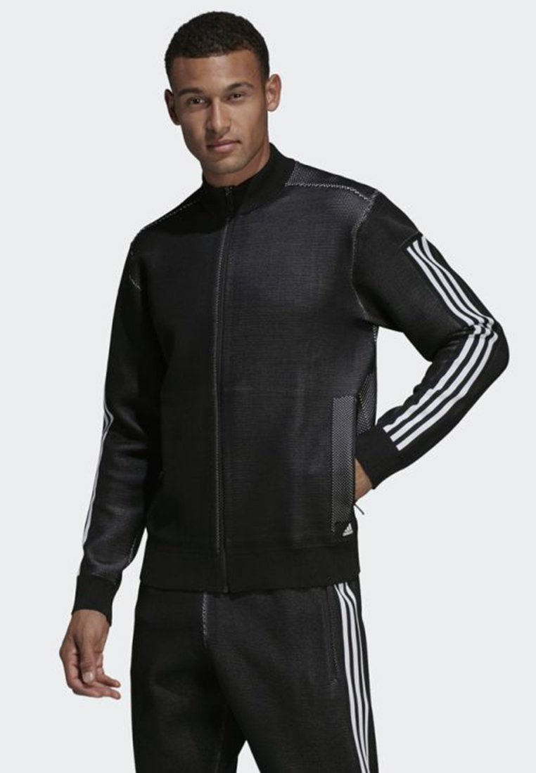 adidas Performance - ID KNIT TRACK JACKET - Trainingsjacke - black