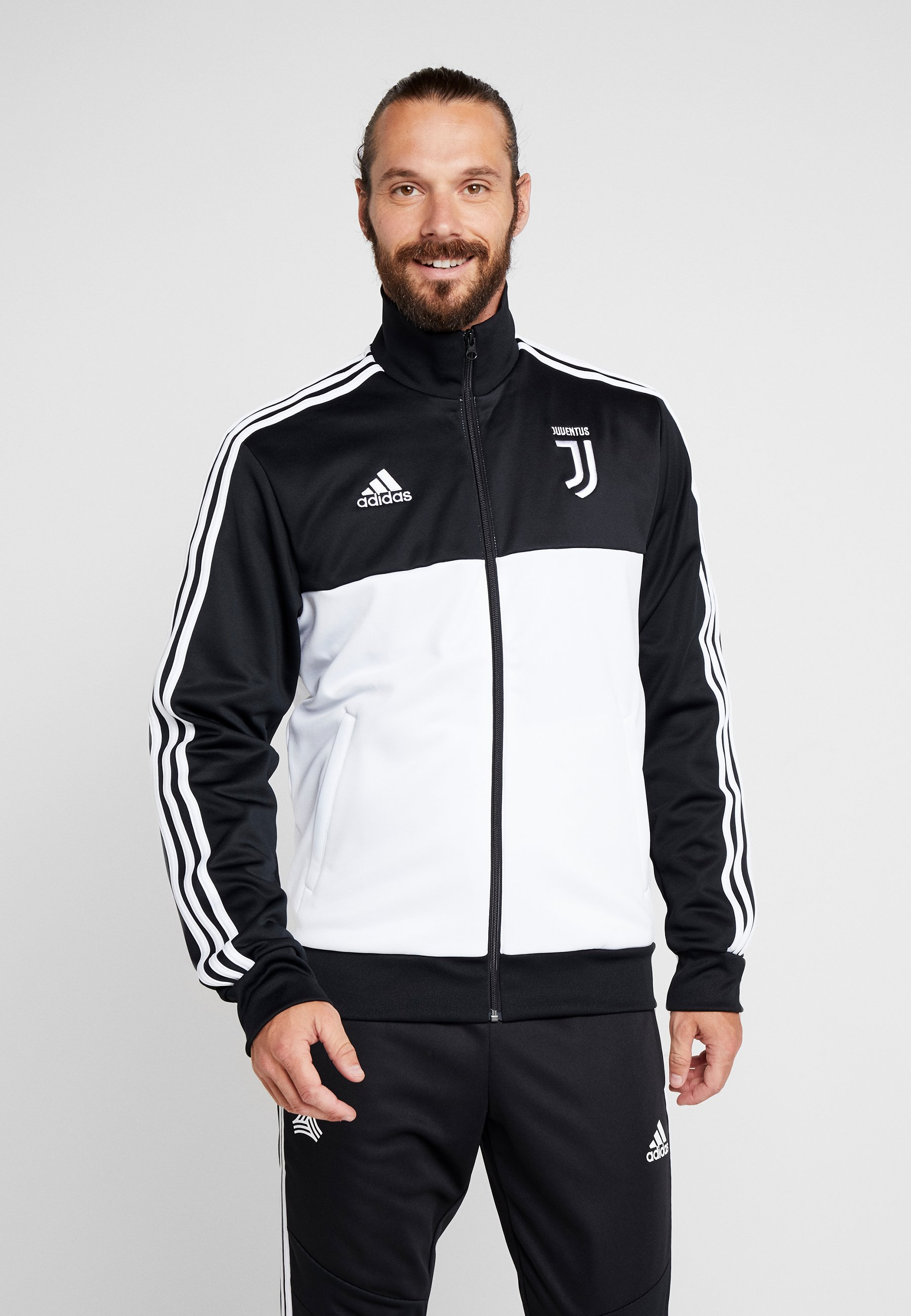 Black white Performance De Supporter TurinArticle Adidas Juventus wN8nvm0