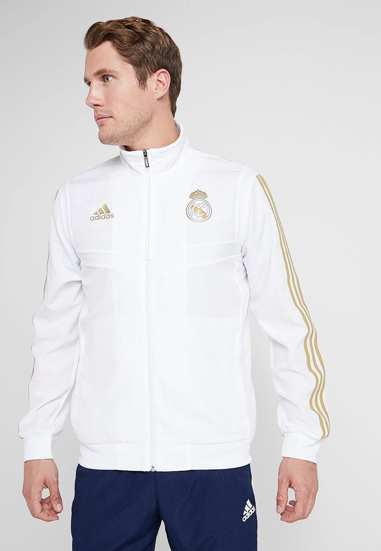 White Pre De Supporter Adidas Real Performance Madrid JktArticle F1KlJc