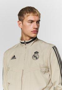 adidas Performance - REAL MADRID - Squadra - rawgol/black - 3