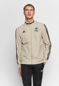 adidas Performance - REAL MADRID - Squadra - rawgol/black - 0