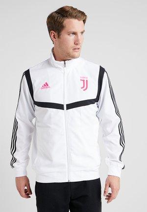 JUVENTUS TURIN PRE JKT - Fanartikel - white/black