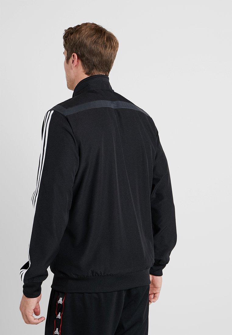 De Grey Turin JktArticle Pre Black Adidas dark Juventus Performance Supporter PuOXikTZ