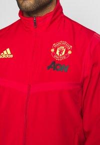 adidas Performance - MUFC PRE - Klubbkläder - red - 4
