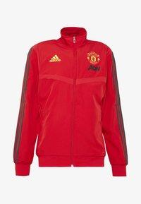 adidas Performance - MUFC PRE - Klubbkläder - red - 3