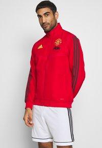adidas Performance - MUFC PRE - Klubbkläder - red - 0