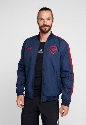 ARSENAL LONDON FC - Training jacket - collegiate navy/scarlet