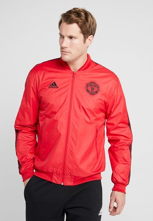 MANCHESTER UNITED ANTHEM JKT - Club wear - real red/black