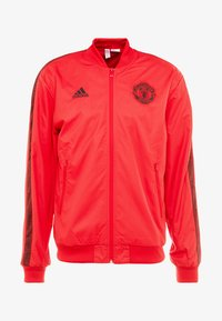 adidas Performance - MANCHESTER UNITED ANTHEM JKT - Club wear - real red/black - 4