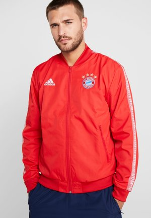 FCB ANTHEM - Training jacket - true red/white