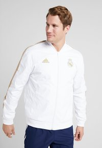 adidas Performance - REAL MADRID ANTHEM JKT - Equipación de clubes - white - 2