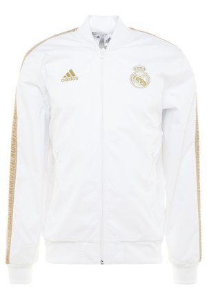 REAL MADRID ANTHEM JKT - Equipación de clubes - white