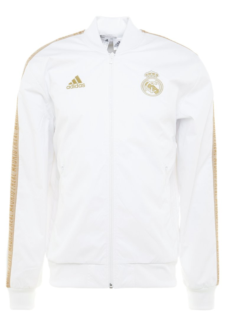 adidas Performance - REAL MADRID ANTHEM JKT - Equipación de clubes - white