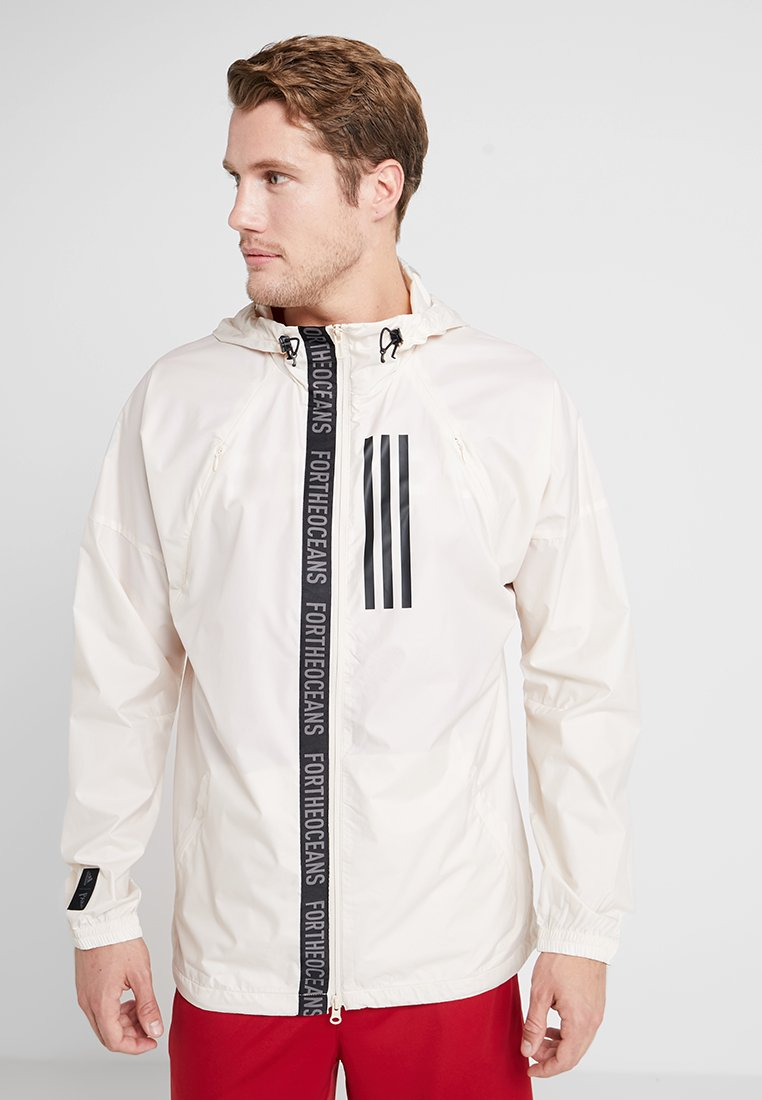 adidas Performance - PARLEY JACKET - Veste de survêtement - linen