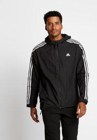 adidas Performance - 3-STRIPES LINING WINDBREAKER - Vindjacka - black/white - 0