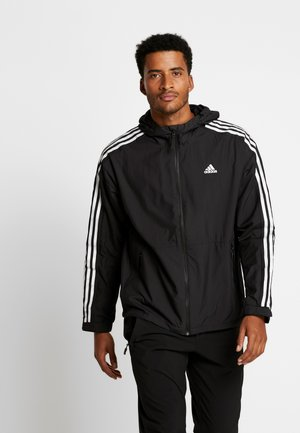 3-STRIPES LINING WINDBREAKER - Tuulitakki - black/white