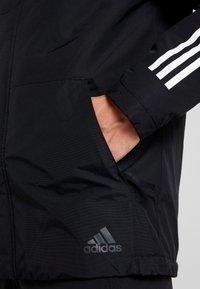 adidas Performance - XPLORIC 3-STRIPES WINTER JACKET - Winterjas - black - 5