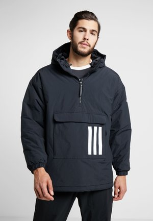INSULATED ANORAK WINTER JACKET - Chaqueta de invierno - black