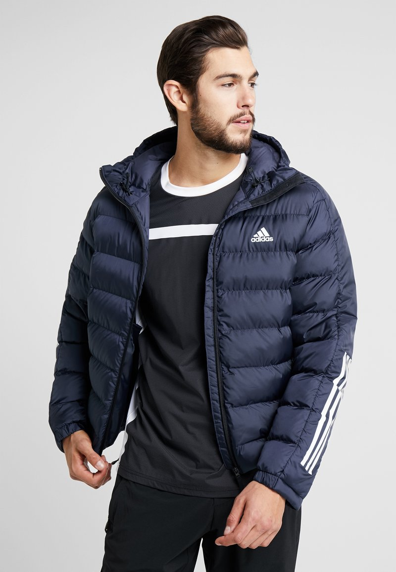 adidas Performance - ITAVIC 3-STRIPES 2.0 WINTER JACKET - Vinterjakker - dark blue