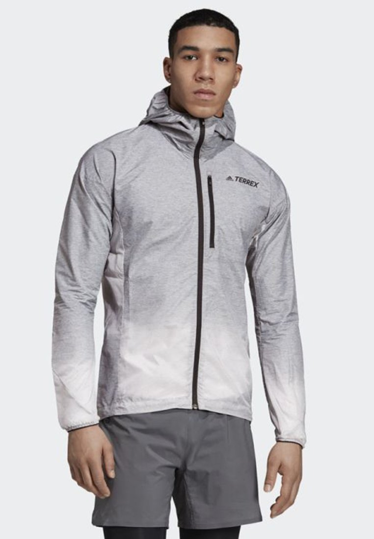 adidas Performance - AGRAVIC WINDWEAVE JACKET - Windbreaker - grey/white