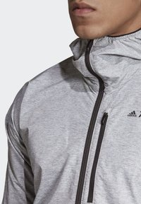 adidas Performance - AGRAVIC WINDWEAVE JACKET - Windbreaker - grey/white - 3
