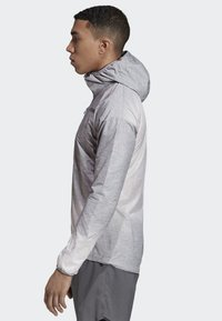 adidas Performance - AGRAVIC WINDWEAVE JACKET - Windbreaker - grey/white - 2