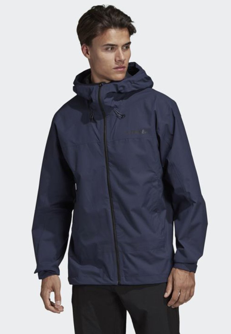 adidas Performance - SWIFT RAIN JACKET - Veste imperméable - blue