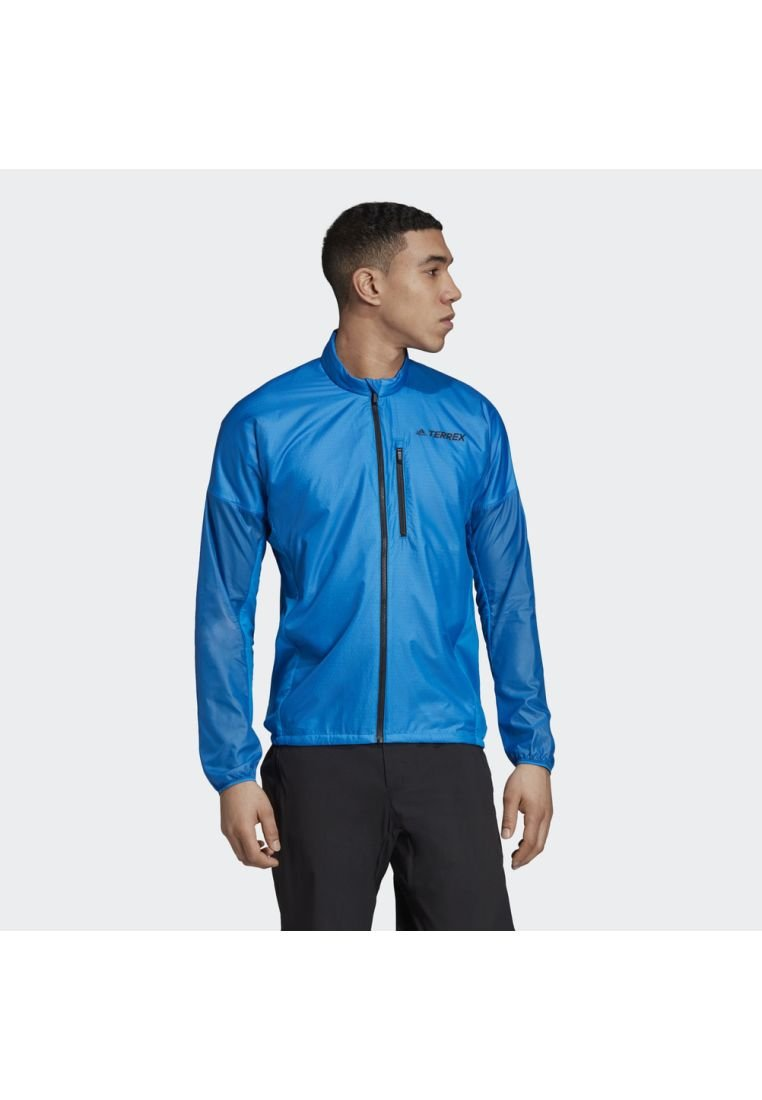 adidas Performance - TERREX AGRAVIC ALPHA JACKET - Windjack - blue