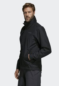 adidas Performance - AX JACKET - Regenjas - black - 2