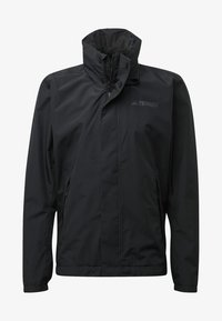 adidas Performance - AX JACKET - Regenjas - black - 6