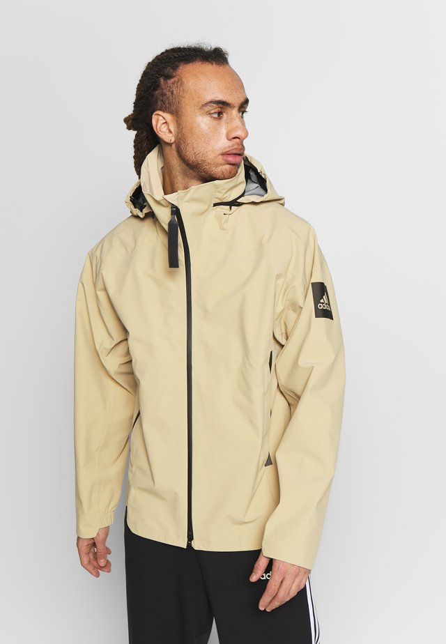 MYSHELTER RAIN.RDY - Hardshell jacket - sand