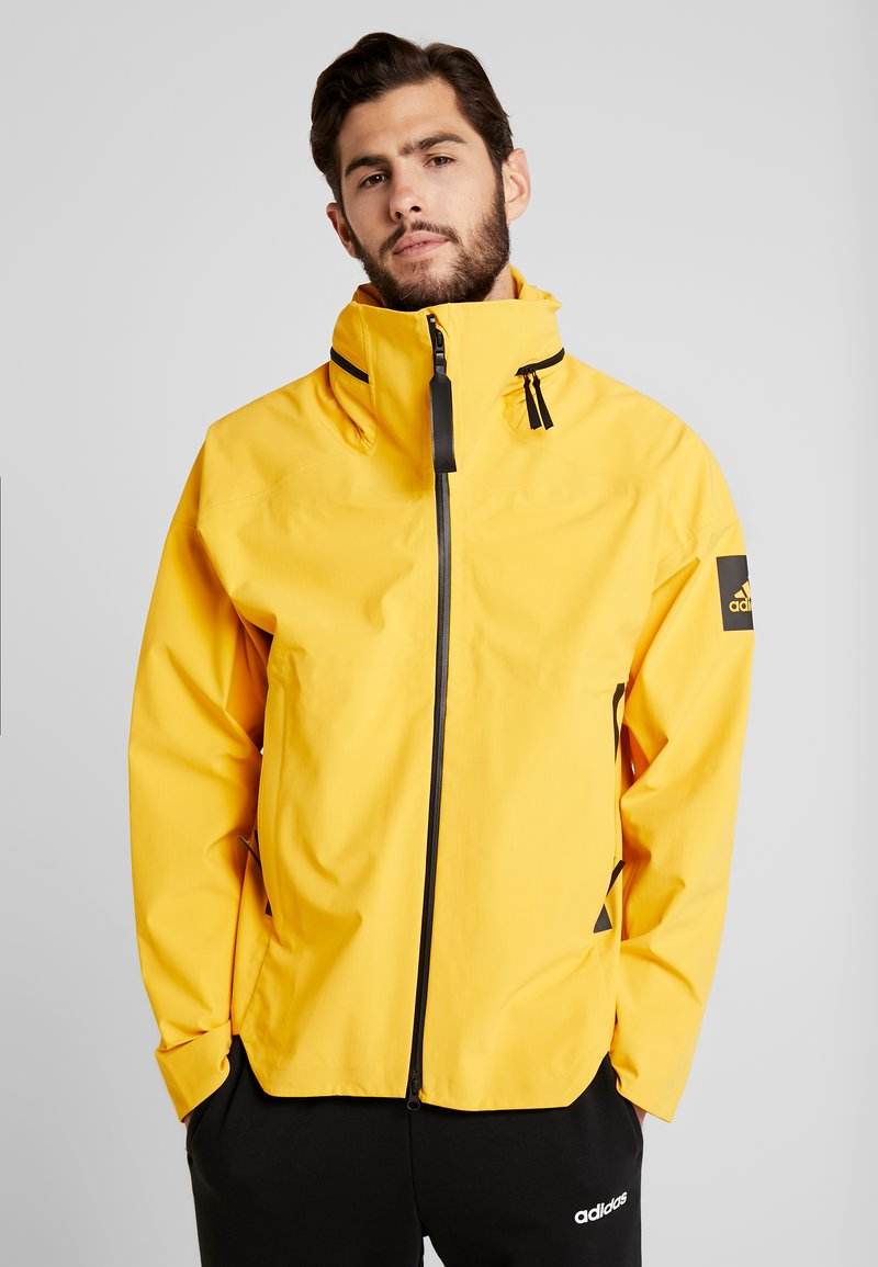 adidas Performance - MYSHELTER RAIN.RDY - Giacca hard shell - active gold