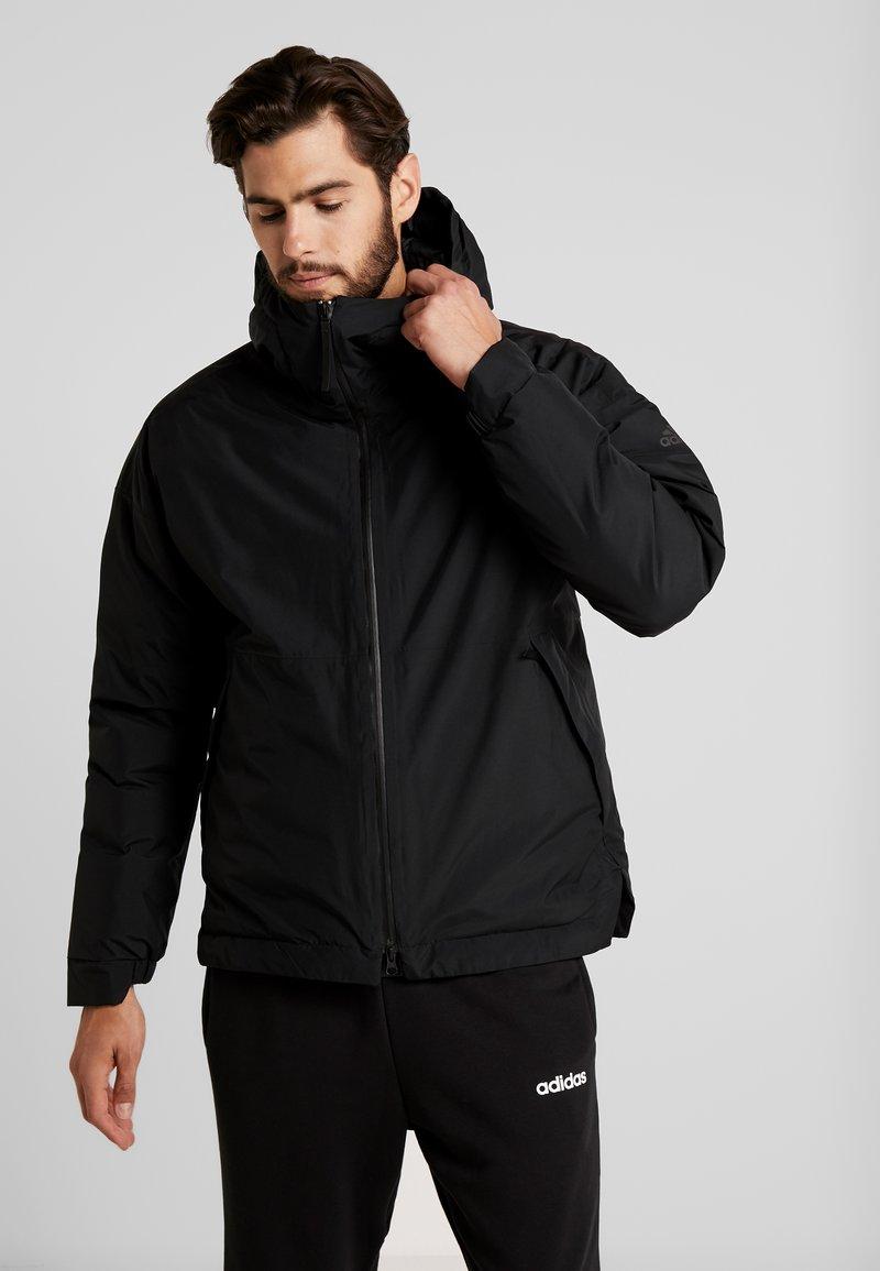 adidas Performance - URBAN INSULATED RAIN JACKET - Regnjacka - black