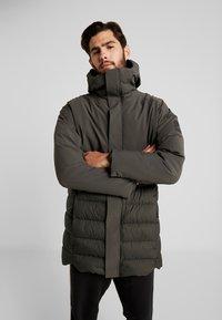 adidas Performance - MYSHELTER CLIMAHEAT PARKA DOWN JACKET - Vinterjacka - legear - 0