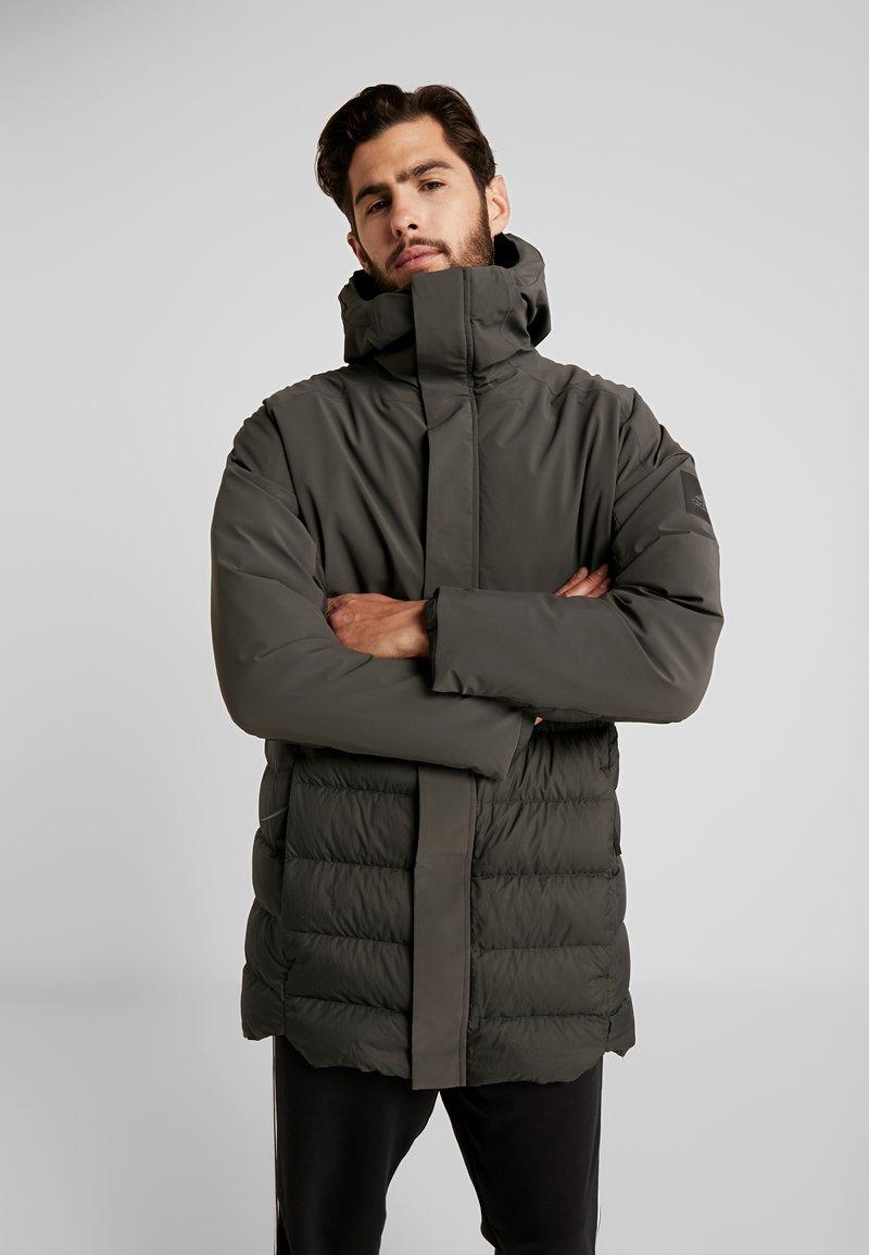 adidas Performance - MYSHELTER CLIMAHEAT PARKA DOWN JACKET - Vinterjacka - legear