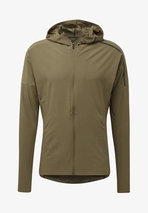 ADIDAS Z.N.E. RUN JACKET - Veste de running - green