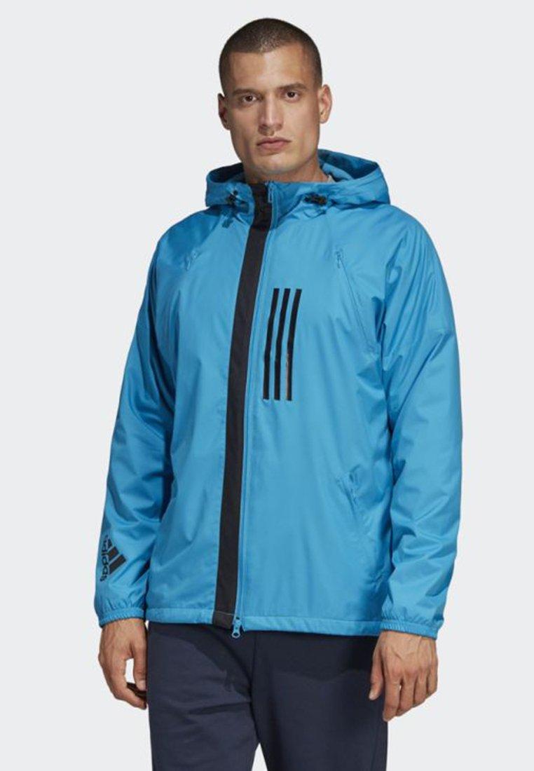 adidas Performance - ID WND JACKET FLEECE-LINED  - Veste imperméable - blue