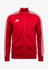 adidas Performance - TIRO 19 TRAINING TRACK TOP - Training jacket - red - 0